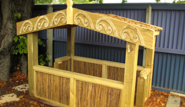Compass Playgrounds Whare for Under Twos